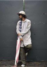 画像16: STRIPE MIX SHIRTS -makeover- TYPE2 (16)