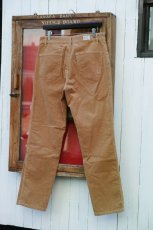 画像13: VINTAGE STRETCH CORDUROY PANTS BEIGE (13)