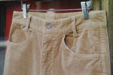 画像12: VINTAGE STRETCH CORDUROY PANTS BEIGE (12)