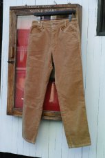 画像11: VINTAGE STRETCH CORDUROY PANTS BEIGE (11)