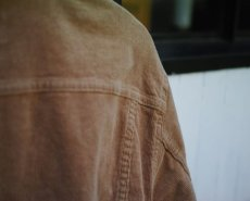 画像15: VINTAGE STRETCH CORDUROY JACKET BEIGE (15)
