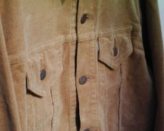 画像10: VINTAGE STRETCH CORDUROY JACKET BEIGE (10)
