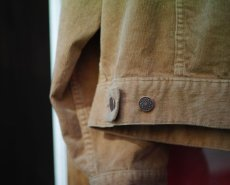 画像14: VINTAGE STRETCH CORDUROY JACKET BEIGE (14)
