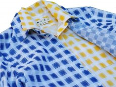 画像4: M A R N I   TRICK SHIRTS BLUECECK/YELLOW CHECK   CUMU0048Q0 (4)