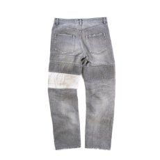 "画像13: <限定商品>VARDE77"" BLACK"" PATCHWORK DAMAGE DENIM PANTS (13)"