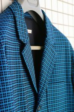 画像11: M A R N I   BLUE BLACK TAILORED JACKET   GUMU0004A0 (11)