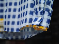 画像14: M A R N I   TRICK SHIRTS BLUECECK/YELLOW CHECK   CUMU0048Q0 (14)