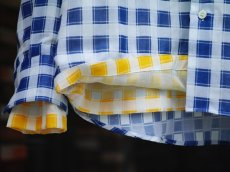 画像13: M A R N I   TRICK SHIRTS BLUECECK/YELLOW CHECK   CUMU0048Q0 (13)