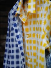 画像17: M A R N I   TRICK SHIRTS BLUECECK/YELLOW CHECK   CUMU0048Q0 (17)