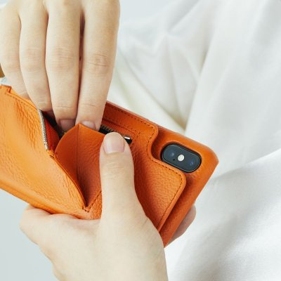 画像1: BIRTH Demiurvo i-PHONE CASE ORANGE