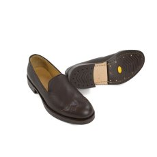 画像7: VARDE77 WESTERN LEATHER SLIP-ON BROWN (7)