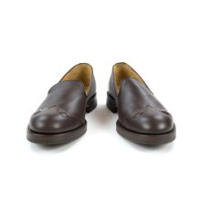 画像3: VARDE77 WESTERN LEATHER SLIP-ON BROWN (3)