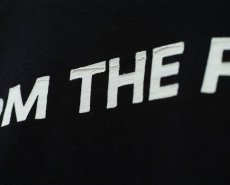 画像10: THE BACK T-SHIRTS BLACK (10)