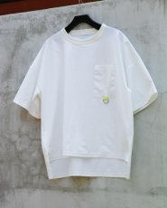 画像2: STRETCH BIG T-SHIRTS WHITE (2)