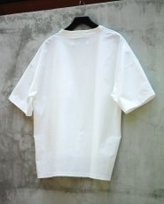画像5: STRETCH BIG T-SHIRTS WHITE (5)