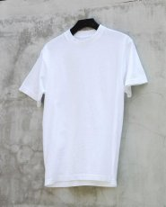 画像1: SHORT SLEEVE T-SHIRTS -USA made- WHITE (1)