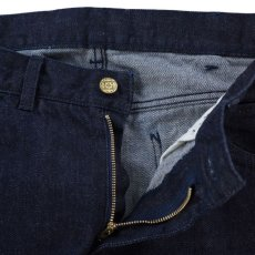 画像5: VARDE77 PARE AWAY STANDARD SLIM DENIM PANTS BLUE ONEWASH (5)