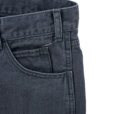 画像8: VARDE77 PARE AWAY STANDARD SLIM DENIM PANTS BLACK BIOWASH (8)