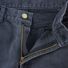 画像5: VARDE77 PARE AWAY STANDARD SLIM DENIM PANTS BLACK BIOWASH (5)