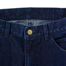 画像2: VARDE77 PARE AWAY STANDARD SLIM DENIM PANTS BLUE BIOWASH (2)