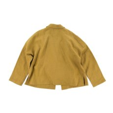 画像5: VARDE77 NONCONVENTIONAL JACKET MUSTARD BROWN (5)