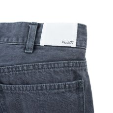 画像6: VARDE77 PARE AWAY STANDARD SLIM DENIM PANTS BLACK BIOWASH (6)
