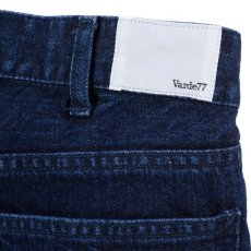 画像5: VARDE77 PARE AWAY STANDARD SLIM DENIM PANTS BLUE BIOWASH (5)