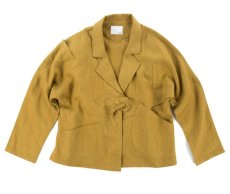 画像1: VARDE77 NONCONVENTIONAL JACKET MUSTARD BROWN (1)