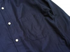 画像4: ts(s) Middle Weight Cotton Oxford Cloth B.D. Shirt NAVY (4)