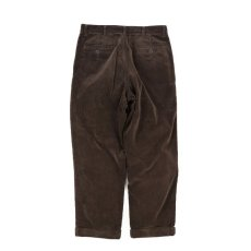 画像5: VARDE77 2TAC CORDUROY PANTS BROWN (5)