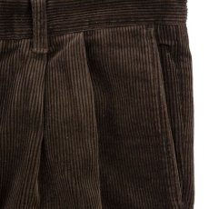 画像3: VARDE77 2TAC CORDUROY PANTS BROWN (3)