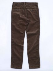 画像4: VARDE77 TAPERED CORDUROY PANTS  BROWN (4)