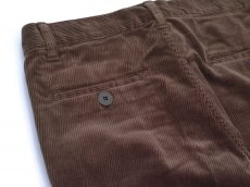 画像6: VARDE77 TAPERED CORDUROY PANTS  BROWN (6)