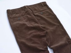 画像5: VARDE77 TAPERED CORDUROY PANTS  BROWN (5)