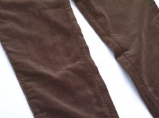 画像3: VARDE77 TAPERED CORDUROY PANTS  BROWN (3)