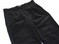 画像2: VARDE77 2TAC CORDUROY PANTS BLACK (2)