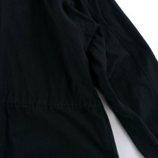 画像7: VARDE77 62' US ARMY VESICANT GAS PROTECTIVE COAT〈SOLID〉 BLACK (7)