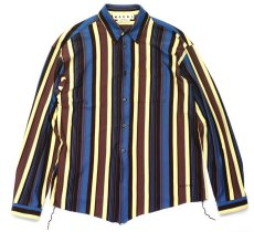 画像1: M A R N I  STRIPE OVER SHIRTS (1)