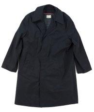 画像1: VARDE77 VINTAGE STAND-FALL COLLAR COAT WITH LINER BLACK (1)