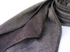 画像3: ts(s) Cotton Light Blanket Cloth Bias Cut Scarf BROWN (3)