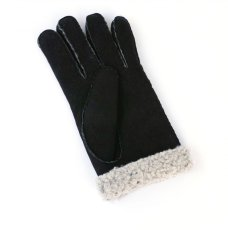 画像3: MOUTON GLOVE BLACK made in italy (3)