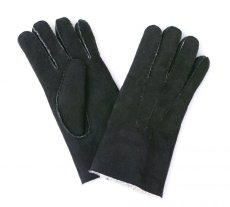 画像1: MOUTON GLOVE BLACK made in italy (1)