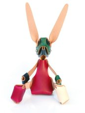 画像3: ANIMAL LEATHER DOLL MULTICOLOR (3)