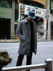 画像16: M A R N I  NYLON TWILL COAT GRAY (16)