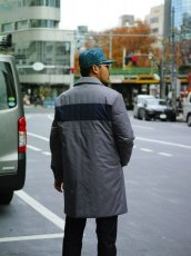 画像19: M A R N I  NYLON TWILL COAT GRAY (19)