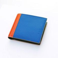 画像1: M A R N I SHORT WALLET BLUE (1)