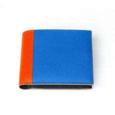 画像2: M A R N I SHORT WALLET BLUE (2)