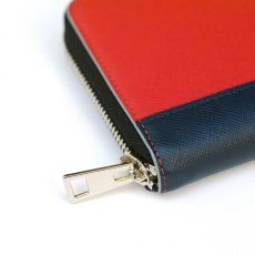 画像4: M A R N I ROUND ZIP SHORT WALLET RED (4)
