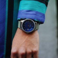 画像10: ERBPRINZ AOUTOMATIC WATCH BLUE (10)