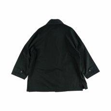 画像5: VARDE77 BRITISH VENTILE COAT BLACK (5)